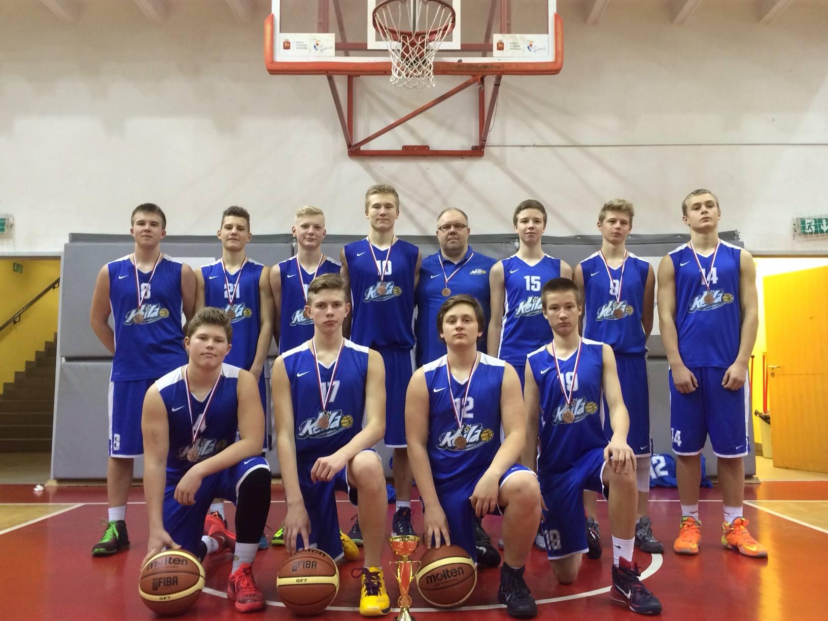 Keila Korvpallikool U16 pronks Poolas