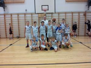 Keila noored korvpallurid Soomes