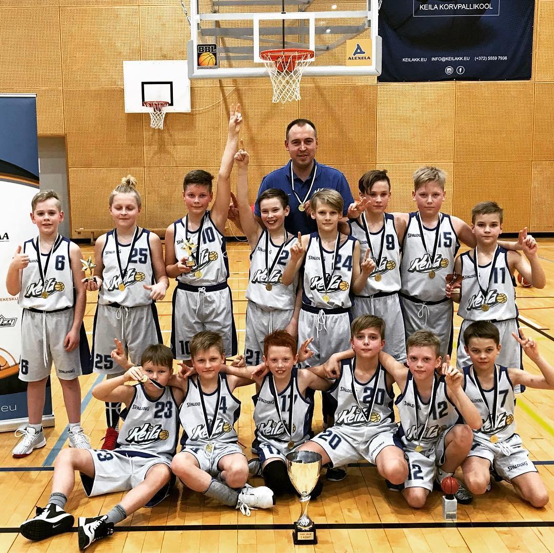 U11 poisid võitsid VKK liigas eskoha