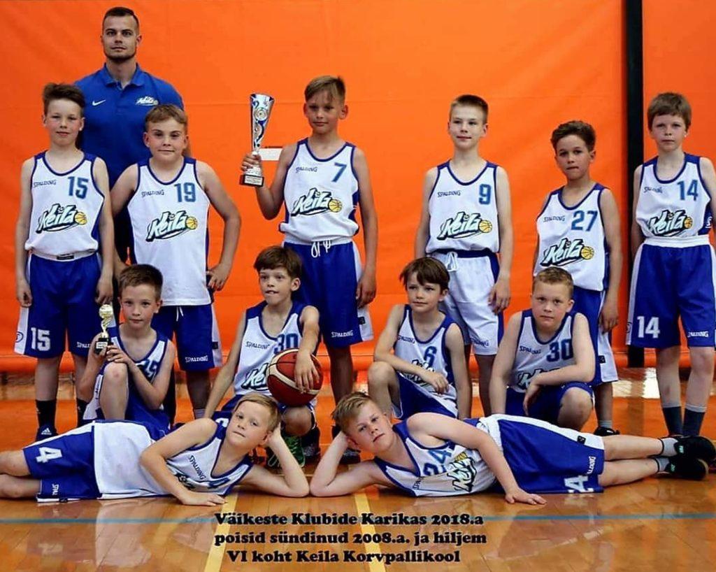 2008 poisid võitsid VKK 6 koha