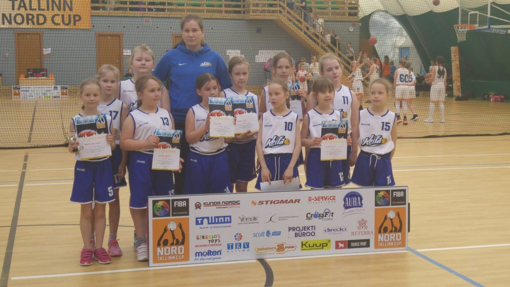 2009 ja 2008 tüdrukud osalesid rahvusvahelisel turniiril