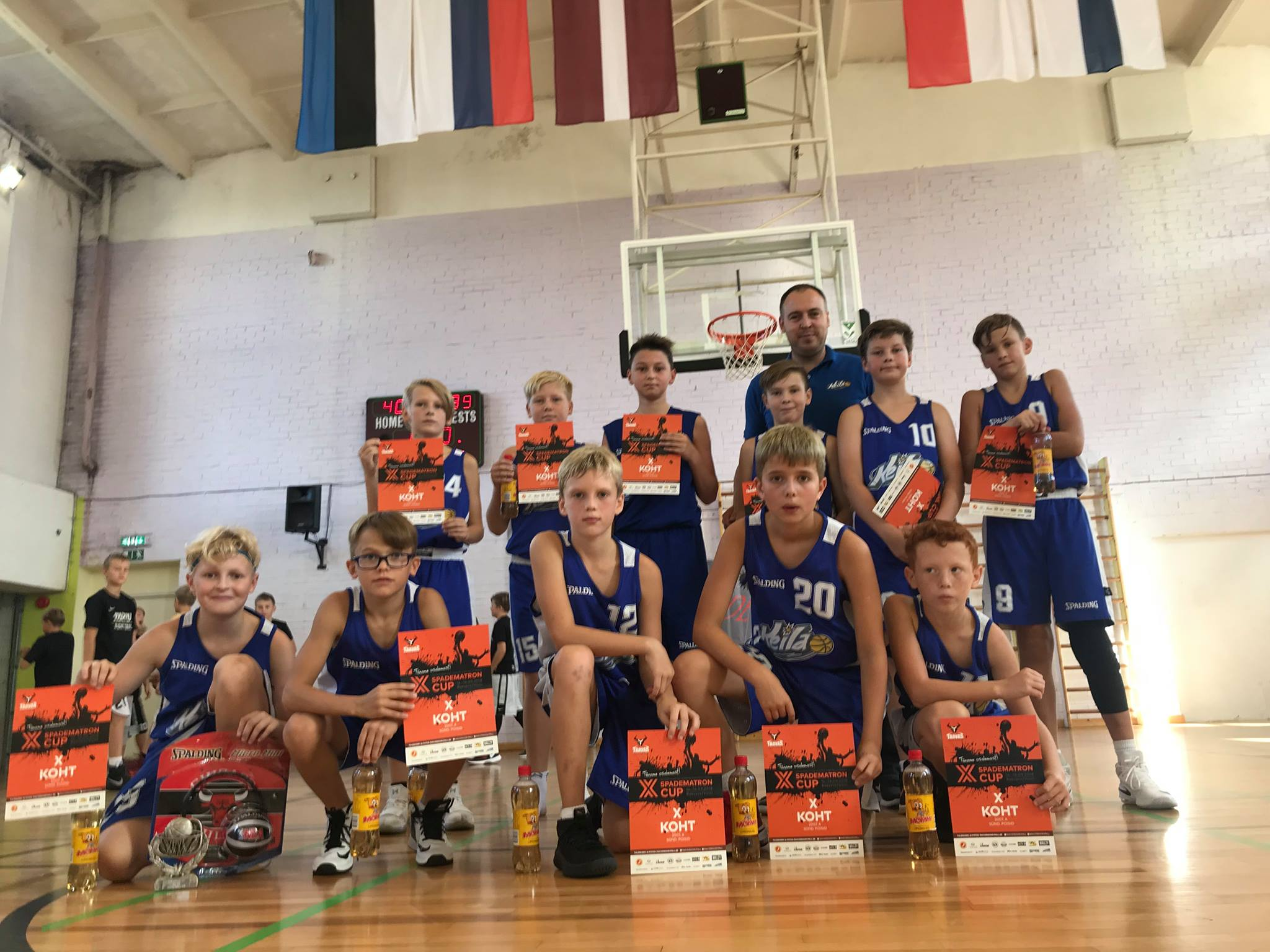 U12 poisid said Spadematron Cupil kaks võitu