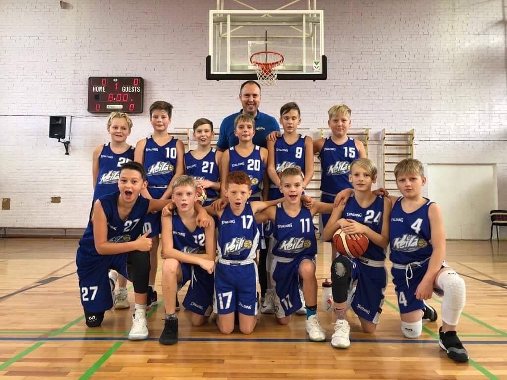 U12 poisid võitsid Balti liigas neli kohtumist
